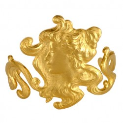 Golden Woman of The Nineteen Century Bracelet