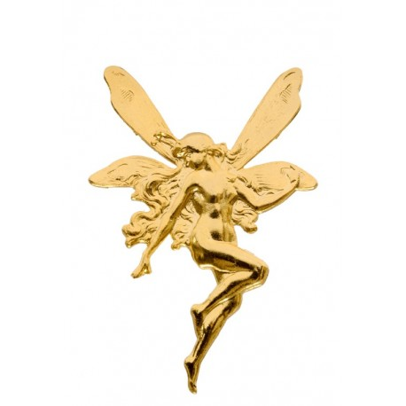 Golden Elf Brooch