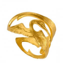 Golden Storks Ring