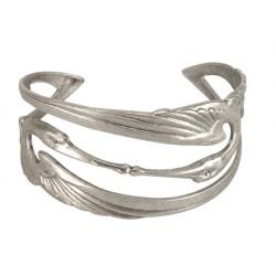 2 Silvery Storks Bracelet