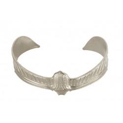 Silvery Beetle Bracelet