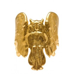 Golden Owl Bracelet