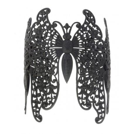 Bracelet 3 Papillons Noir
