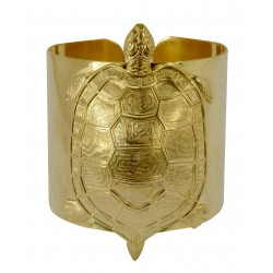 Bracelet Tortue Doré