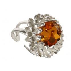 Silvery Artichoke Ring