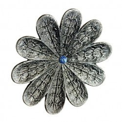 """Canon De Fusil"" Flower Ring"
