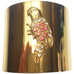 Bracelet perroquet doré