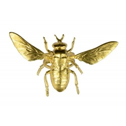 gold plated bee ring