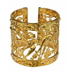 gold plated shallow bracelet