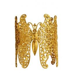 Bracelet 3 Papillons Doré