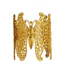 3 Golden Butterflies Bracelet