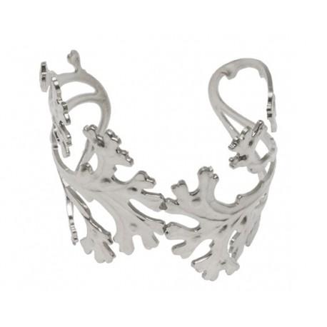 Silvery Algae Bracelet