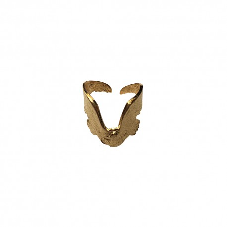 GOLD PLATED SEAGULL RING