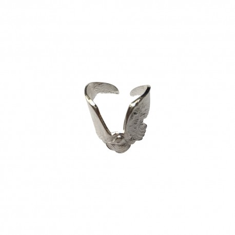 SILVER PLATED SEAGULL RING
