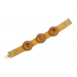 Bracelet Artichaut Doré