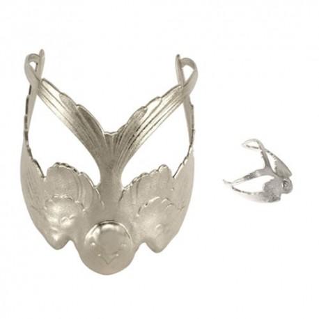 Silvery Swallow (Ring + Bracelet)
