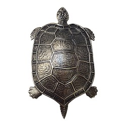 OLD SILVER TORTLE BROOCH
