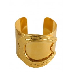 Bracelet Fer à Cheval Doré