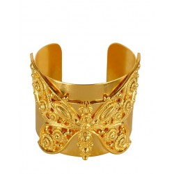 Golden Butterfly Bracelet