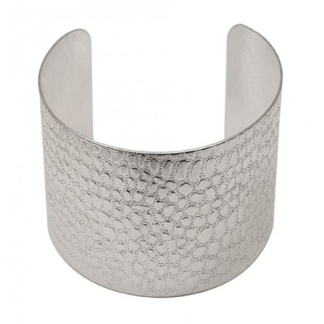 Silvery Croco Bracelet