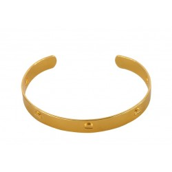 Golden Screws Bracelet