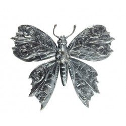 "Big ""Canon De Fusil""  Butterfly Brooch"