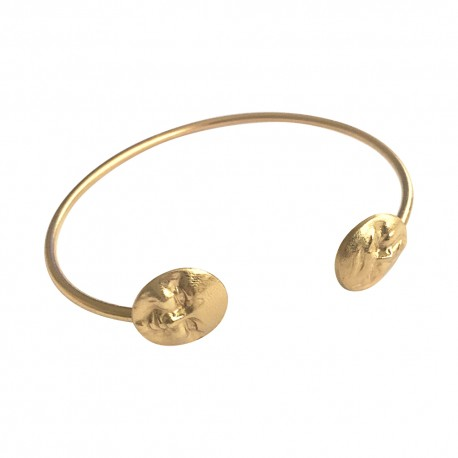 GOLD PLATED MOON BRACELET