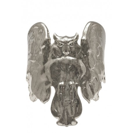 Silvery Owl Bracelet