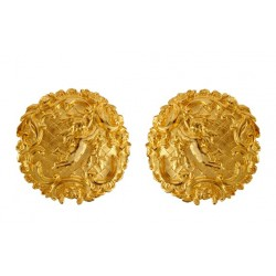 Gold plated Angels Earrings