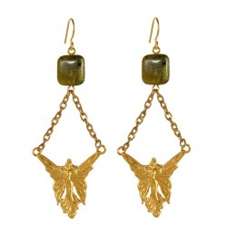 Golden Elf Earings