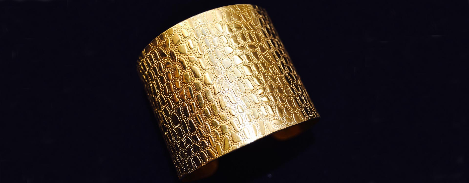 Golden Croco Bracelet
